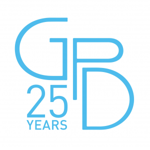 25 Years White Logo